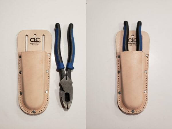 pliers holder for linesman pliers