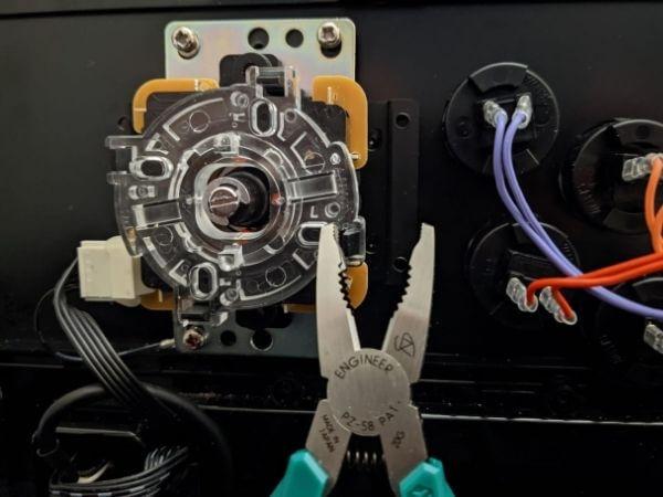 removing glued screws on gaming CPU