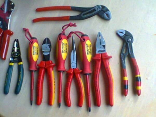 collection of knipex tools