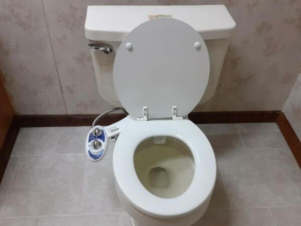 how to install a bidet on a regular toilet