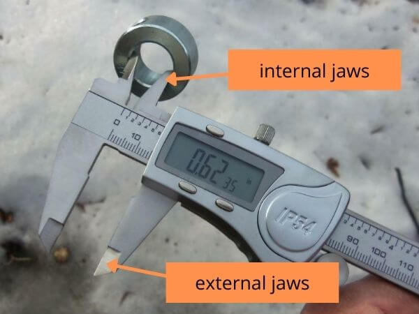 digital vernier caliper precision measurement tool
