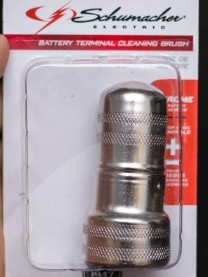Schumacher battery terminal cleaning brush cleaner